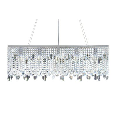 Gaetana 5-Light Kitchen Island Pendant Finish: Chrome
