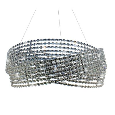Diamante 6-Light Crystal Chandelier