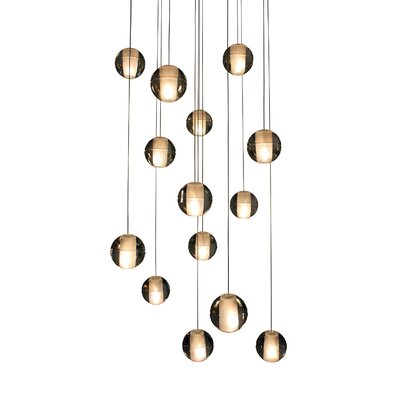 14-Light Cascade Pendant