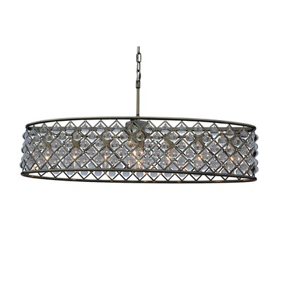 Adelaida 8-Light Kitchen Island Pendant Finish: Antique Brass