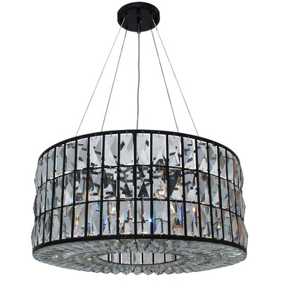 Jacques 6-Light Drum Chandelier