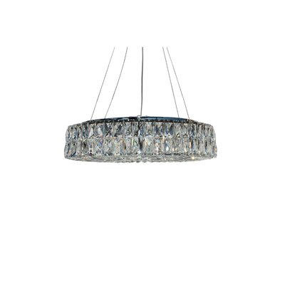 Baker 8-Light Crystal Chandelier