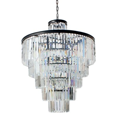 Sheba 13-Light Crystal Chandelier