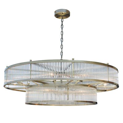 Sibyl 15-Light Crystal Chandelier