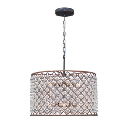 Adelaida 8-Light Drum Chandelier Finish: Oil Rubbed Bronze