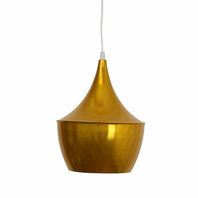 Astra Brass 1-Light Mini Pendant