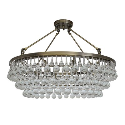 Artur 10-Light Semi Flush Mount