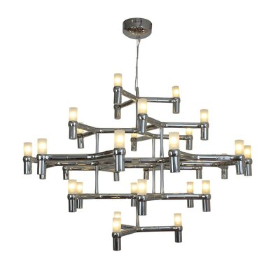 Despain Modern Suspension 30-Light Sputnik Chandelier