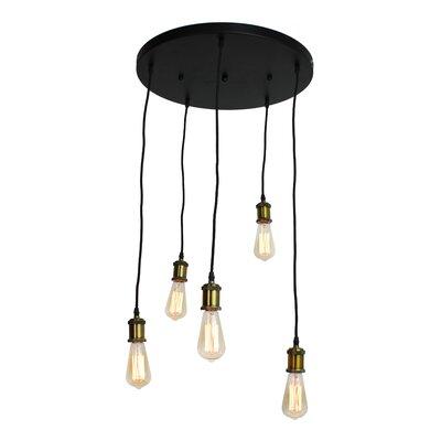 Freudenberger Vintage 5-Light Cluster Pendant