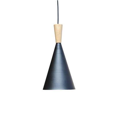 Astra Wood 1-Light Mini Pendant