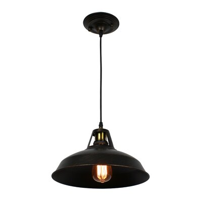 Garrin Rustic 1-Light Mini Pendant