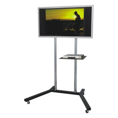 Trolley Fixed Floor Stand Mount for 30-50 LCD / Plasma Screens