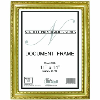 Breeze Point Prestige Picture Frame Color: Gold