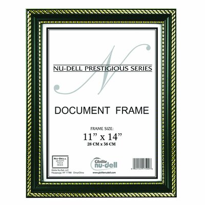 Breeze Point Prestige Picture Frame Color: Black / Gold