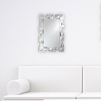 """Breeze Point Wall Mirror Size: 40"""" H X 30"""" W X 0.75"""" D"""