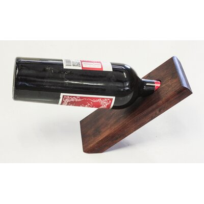 Vineyard 1 Bottle Tabletop Wine Rack Finish: Red Mahogany