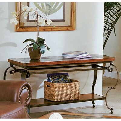Cheap Peters-Revington St. Augustine Sofa Table in Oak and Slate (PRV1417)