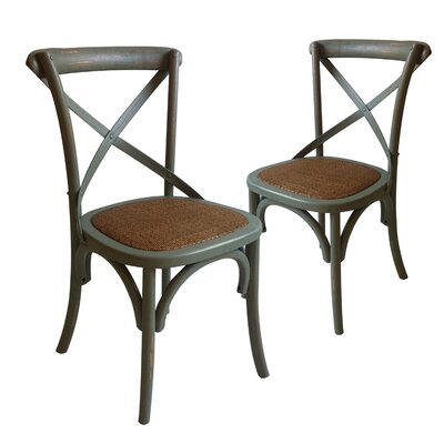 Sybilla Side Chair Color: Gray