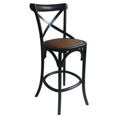 29 Bar Stool Finish: Dark Brown