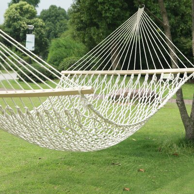 Woven Rope Tree Hanging Suspended Indoor/Outdoor Cotton Tree Hammock