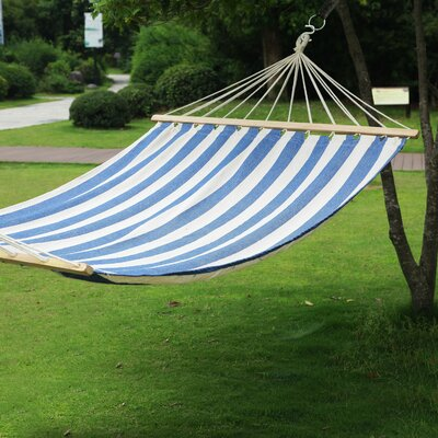 Tree Hanging Suspended Indoor/Outdoor Cotton Tree Hammock Size: 63 W x 140 D