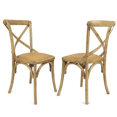Sybilla Side Chair Finish: Tan