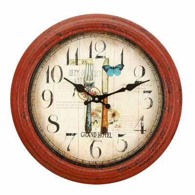 14.6 Round Fork and Knife Design Kitchen Wall Hanging Clock