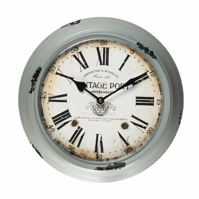 11.8 Round Roman Numerals Wall Hanging Clock