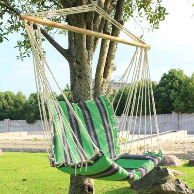 Tree Hanging Suspended Indoor/Outdoor Cotton Chair Hammock