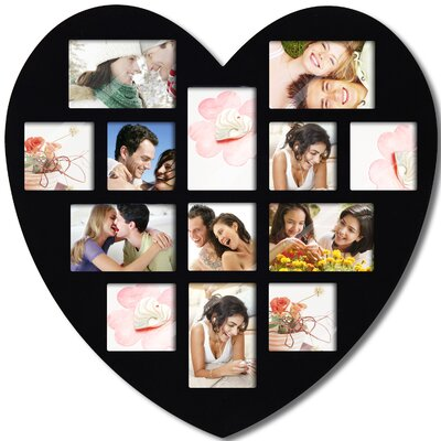 13 Opening Heart Collage Picture Frame