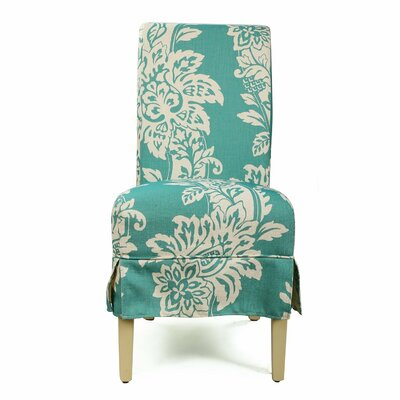 Parsons Chair Upholstery: Blue