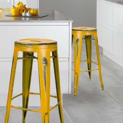 30 Bar Stool Finish: Yellow