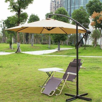 10 Cantilever Umbrella Fabric: Tan