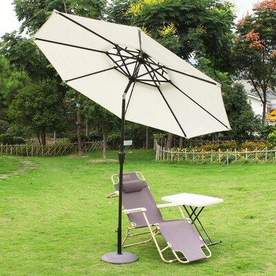 9 Illuminated Umbrella Fabric: Beige