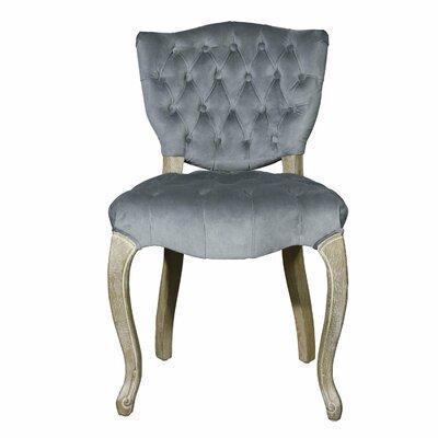 Side Chair Upholstery: Dark Gray