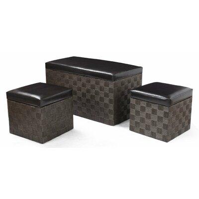 3 Piece Ottoman Set