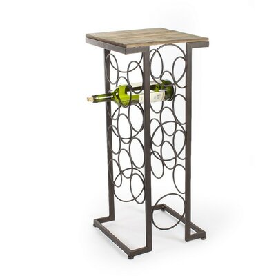 11 Bottle Floor Wine Rack