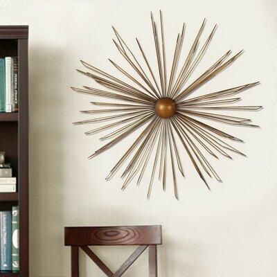 Decorative Contemporary Modern Starburst Iron Widget Wall Decor
