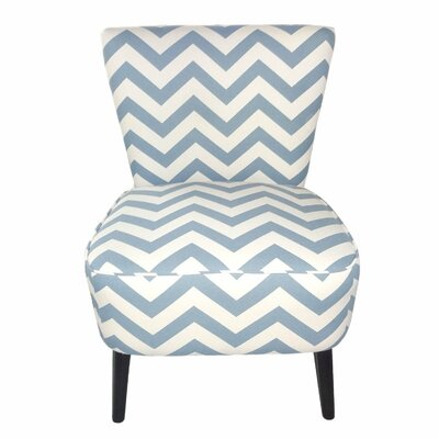 Eruo Cute Taffy Slipper Chair Upholstery: Light Gray