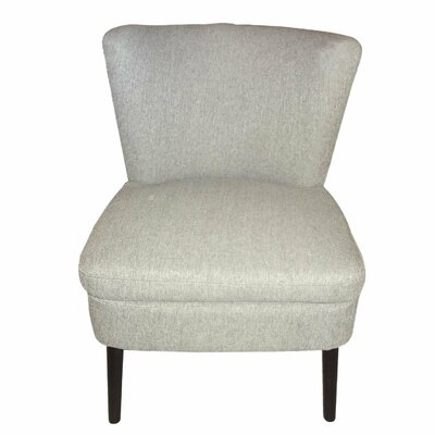 Slipper Chair Color: Gray
