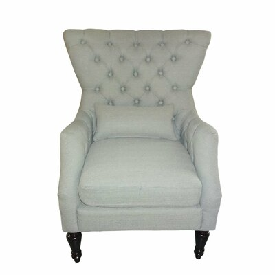 Armchair Color: Light Gray