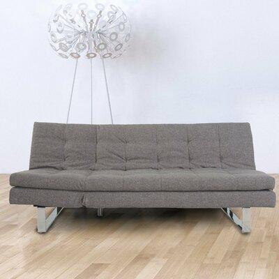 Convertible Sofa Upholstery: Dark Grey