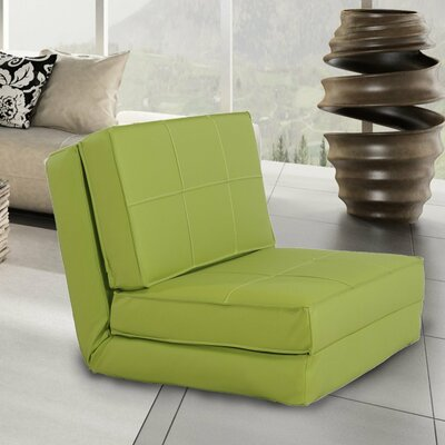 Convertible Chair Upholstery: Lime Green