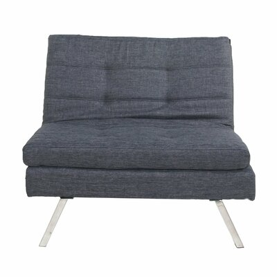 Sleeper Loveseat Upholstery: Dark Slate Blue