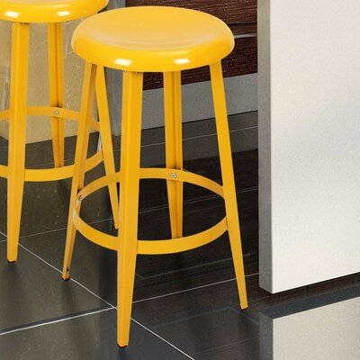 Quon 26 Bar Stool Finish: Yellow