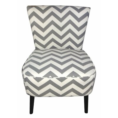 Eruo Cute Taffy Slipper Chair Color: Dark Gray