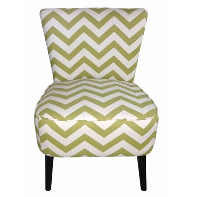 Eruo Cute Taffy Slipper Chair Upholstery: Light Green