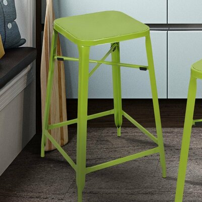 26 Bar Stool Finish: Green