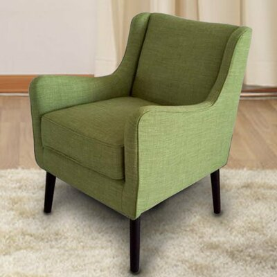 Armchair Color: Green