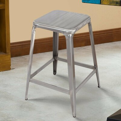 24 Bar Stool Finish: Gunmetal